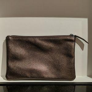 NWOT Laura Mercier Leopard Interior Makeup Bag